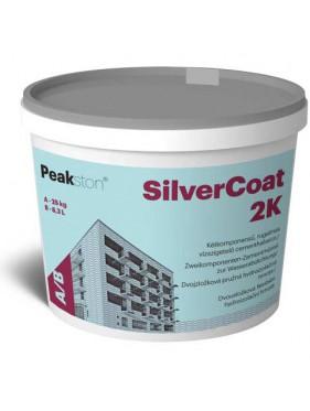 Silvercoat dvojzložková hydroizolačná emulzia s cementovou hmotou