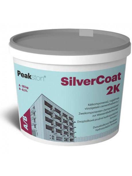 Silver Coat 2K dvojzložková hydroizolačná emulzia s cementovou hmotou